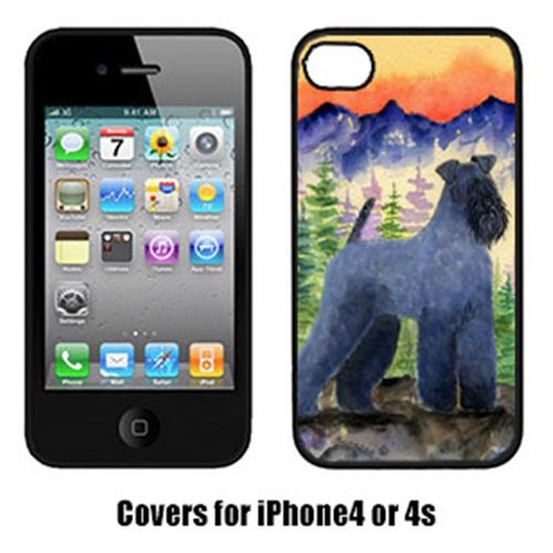 Carolines Treasures SS8223IP4 Kerry Blue Terrier Cell Phone cover IPhone 4