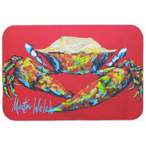 Carolines Treasures MW1096MP Crab Seafood One Mouse Pad Hot Pad or Trivet