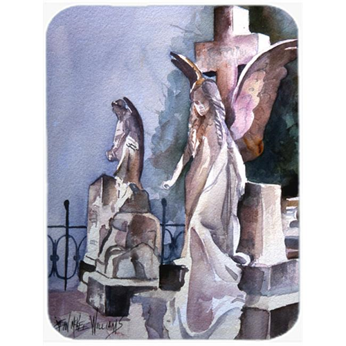 Carolines Treasures JMK1201MP Angels In The Cemetary With Cross Mouse Pad Hot Pad & Trivet
