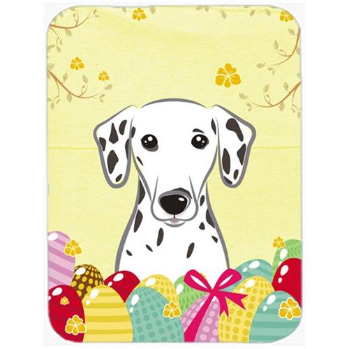 Carolines Treasures BB1892MP Dalmatian Easter Egg Hunt Mouse Pad Hot Pad or Trivet