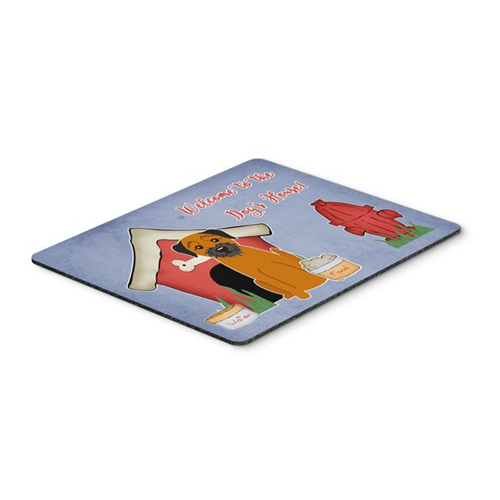 Carolines Treasures BB2793MP Dog House Collection Border Terrier Mouse Pad Hot Pad or Trivet