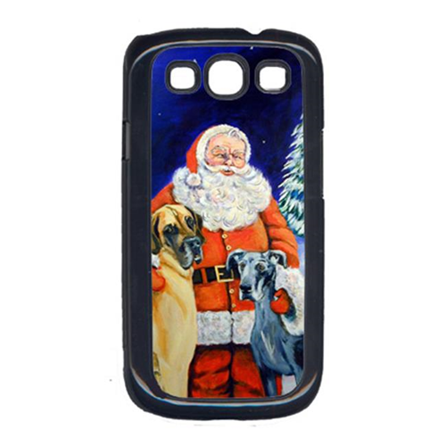 Carolines Treasures 7232GALAXYSIII Santa Claus With Great Dane Galaxy S111 Cell Phone Cover