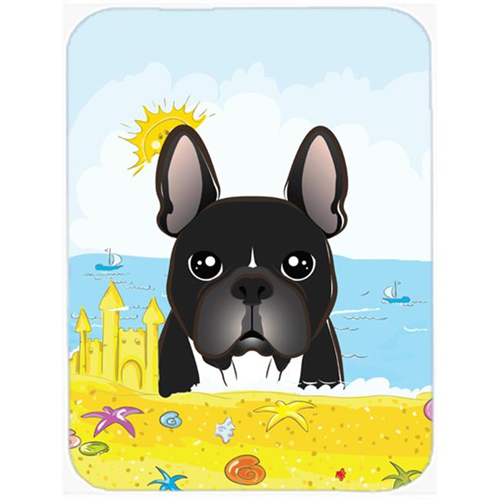 Carolines Treasures BB2095MP French Bulldog Summer Beach Mouse Pad Hot Pad or Trivet