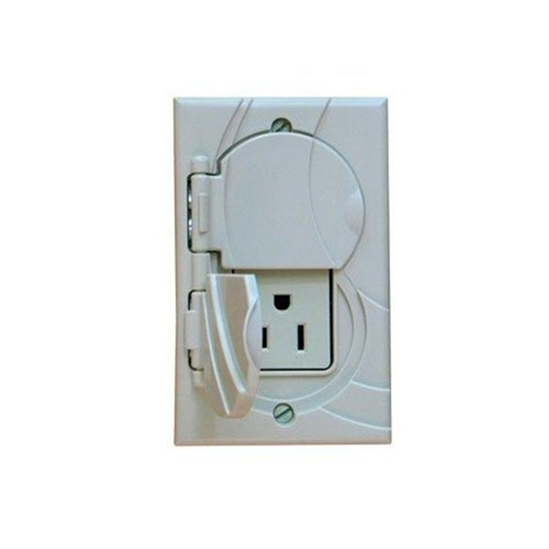 StayConnect IR300-GNH-W Gfci Outlet Cover No Hook - White