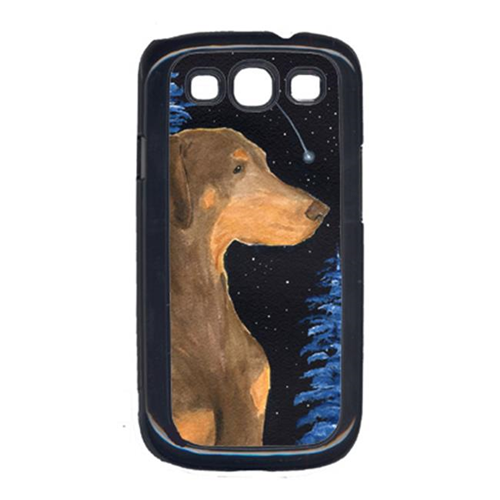 Carolines Treasures SS8462GALAXYSIII Starry Night Doberman Galaxy S111 Cell Phone Cover