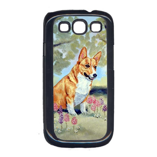 Carolines Treasures 7054GALAXYSIII Corgi Cell Phone Cover For Galaxy S111
