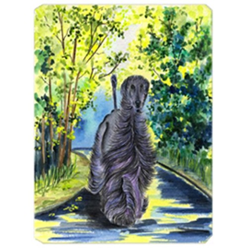 Carolines Treasures SS8181MP Afghan Hound Mouse Pad Hot Pad & Trivet