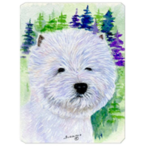 Carolines Treasures SS8002MP 8 x 9.5 in. Westie Mouse Pad Hot Pad or Trivet