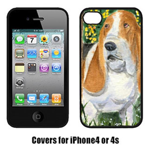 Carolines Treasures SS8964IP4 Basset Hound Cell Phone Cover Iphone4