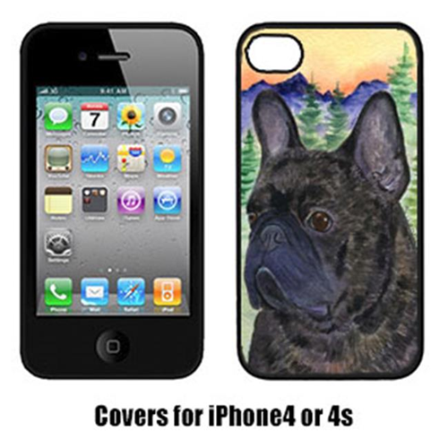 Carolines Treasures SS8257IP4 French Bulldog Cell Phone cover IPhone 4