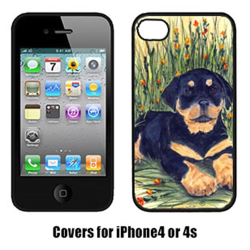 Carolines Treasures SS8107IP4 Rottweiler Iphone 4 Cover