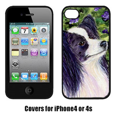 Carolines Treasures SS8896IP4 Papillon Cell Phone Cover Iphone4