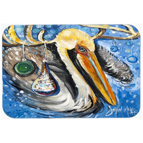 Carolines Treasures JMK1020MP Pelican Dressed As A Reindeer Mouse Pad Hot Pad & Trivet