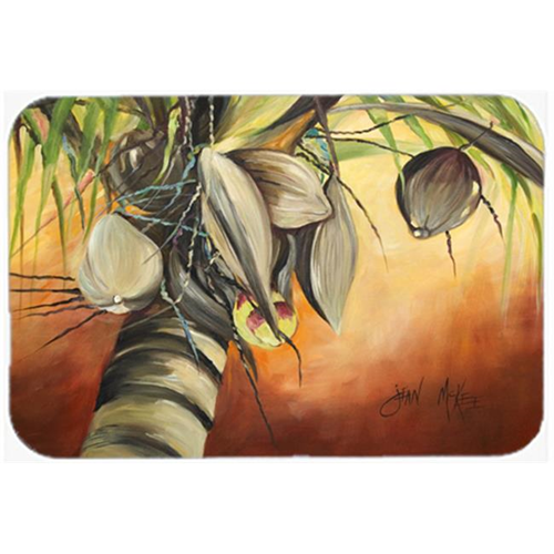 Carolines Treasures JMK1128MP Coconut Tree Mouse Pad Hot Pad & Trivet