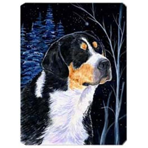 Carolines Treasures SS8393MP Starry Night Bernese Mountain Dog Mouse Pad