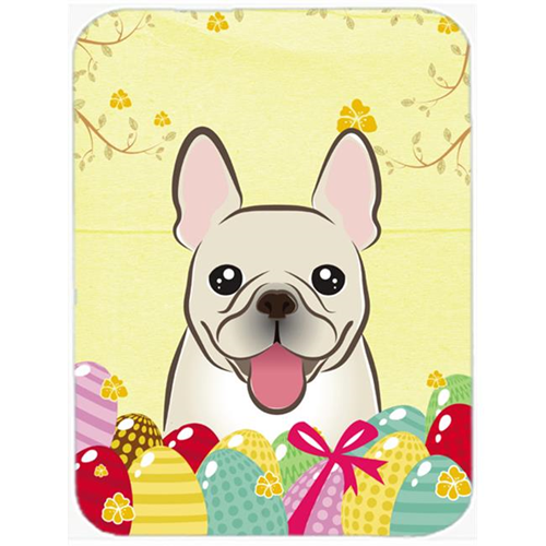 Carolines Treasures BB1920MP French Bulldog Easter Egg Hunt Mouse Pad Hot Pad or Trivet