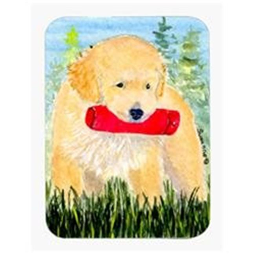Carolines Treasures SS8858MP Golden Retriever Mouse Pad & Hot Pad Or Trivet