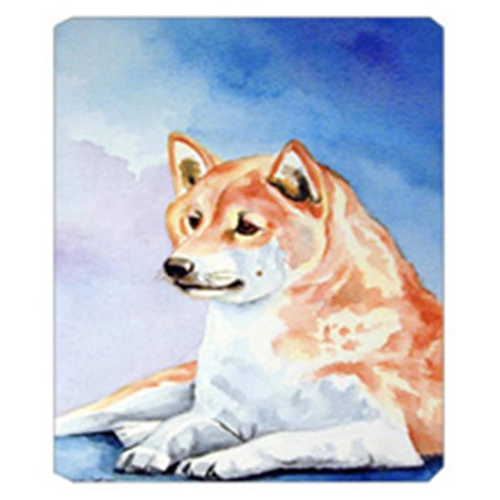 Carolines Treasures 7135MP 8 x 9.5 in. Red and White Shiba Inu Mouse Pad Hot Pad Or Trivet