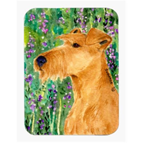 Carolines Treasures SS1004MP 8 x 9.5 in. Irish Terrier Mouse Pad Hot Pad or Trivet