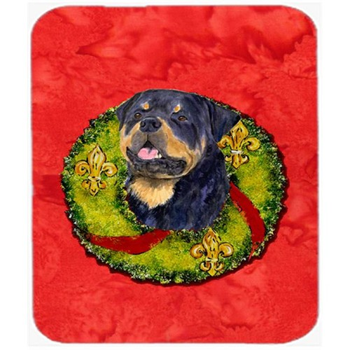 Carolines Treasures SS4211MP Rottweiler Mouse Pad Hot Pad or Trivet