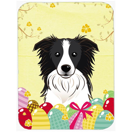 Carolines Treasures BB1923MP Border Collie Easter Egg Hunt Mouse Pad Hot Pad or Trivet