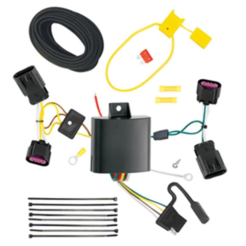 Tow Ready 118580 T-One Connector Assembly With Upgraded Circuit Protected Modulite Module 3.98 x 4.75 x 8.88 in.