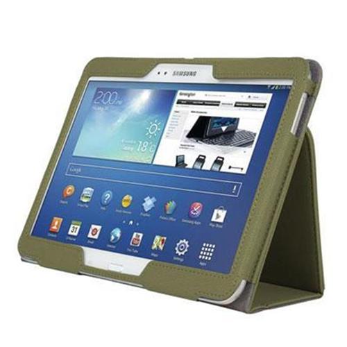 Kensington K97112WWCase Stand Galaxy Tab3 Olive