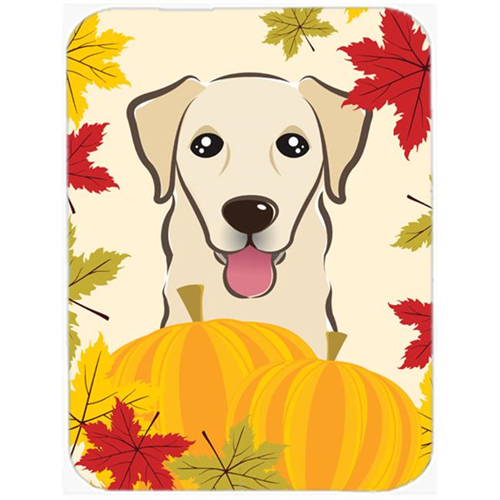 Carolines Treasures BB2058MP Golden Retriever Thanksgiving Mouse Pad Hot Pad or Trivet