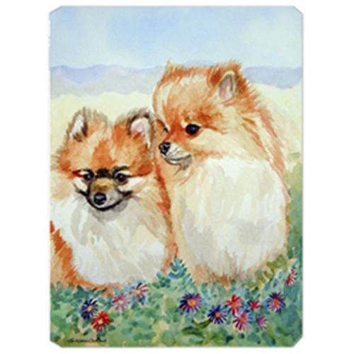 Carolines Treasures 7262MP 8 x 9.5 in. Pomeranian Mouse Pad Hot Pad or Trivet