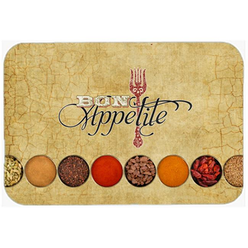 Carolines Treasures SB3089MP 7.75 x 9.25 In. Bon Appetite And Spices Mouse Pad Hot Pad Or Trivet