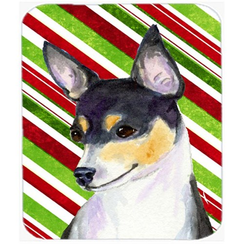 Carolines Treasures SS4587MP Chihuahua Candy Cane Holiday Christmas Mouse Pad Hot Pad Or Trivet