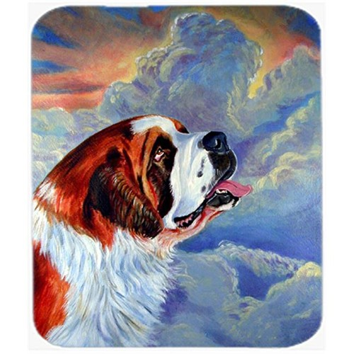 Carolines Treasures 7085MP 9.5 x 8 in. Saint Bernard Mouse Pad Hot Pad or Trivet