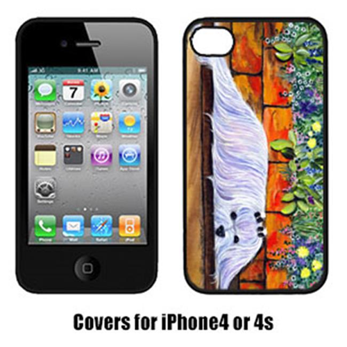 Carolines Treasures SS8248IP4 Maltese Cell Phone cover IPhone 4