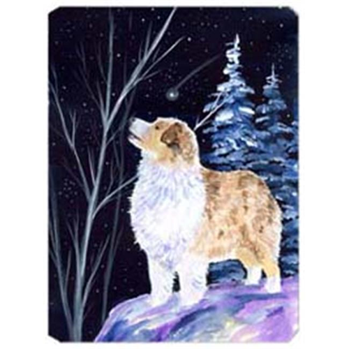 Carolines Treasures SS8367MP Starry Night Australian Shepherd Mouse Pad