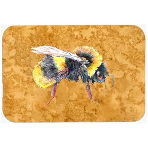 Carolines Treasures 8850MP Bee on Gold Mouse Pad Hot Pad or Trivet