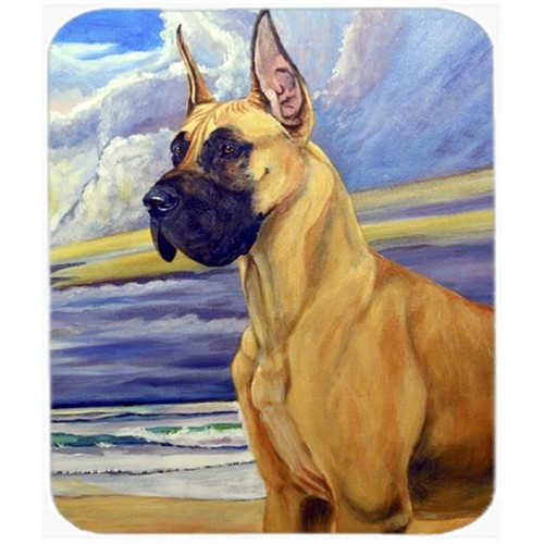 Carolines Treasures 7101MP 9.5 x 8 in. Fawn Great Dane At The Beach Mouse Pad Hot Pad or Trivet