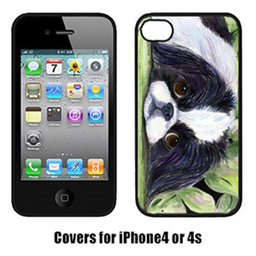 Carolines Treasures SS8322IP4 Japanese Chin Cell Phone cover IPhone 4