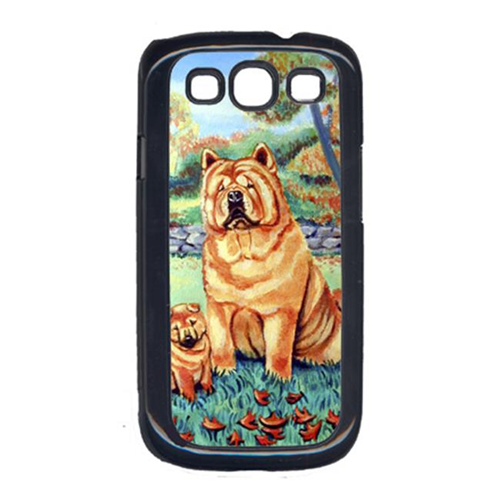 Carolines Treasures 7057GALAXYSIII Chow Chow Momma S Love Cell Phone Cover For Galaxy S111