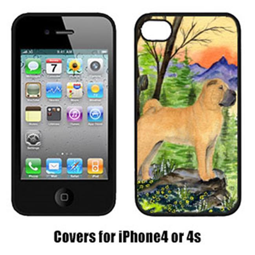Carolines Treasures SS8324IP4 Shar Pei Cell Phone cover IPhone 4