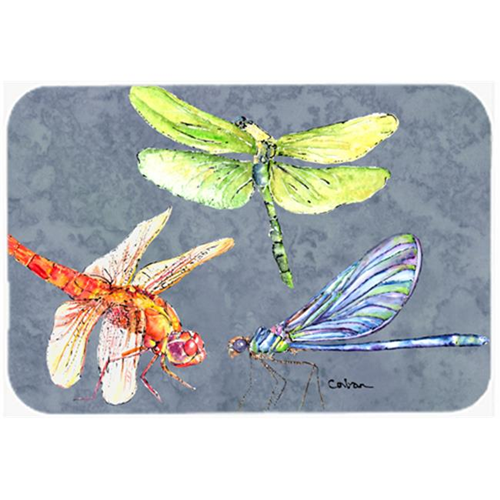 Carolines Treasures 8878MP Dragonfly Times Three Mouse Pad Hot Pad or Trivet
