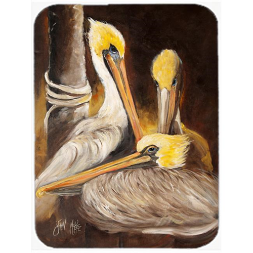 Carolines Treasures JMK1146MP Brown Pelicans Mouse Pad Hot Pad & Trivet