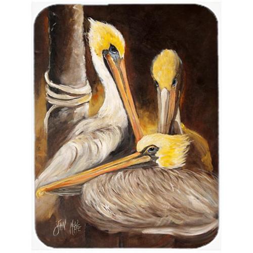Carolines Treasures JMK1146MP Brown Pelicans Mouse Pad Hot Pad & Trivet