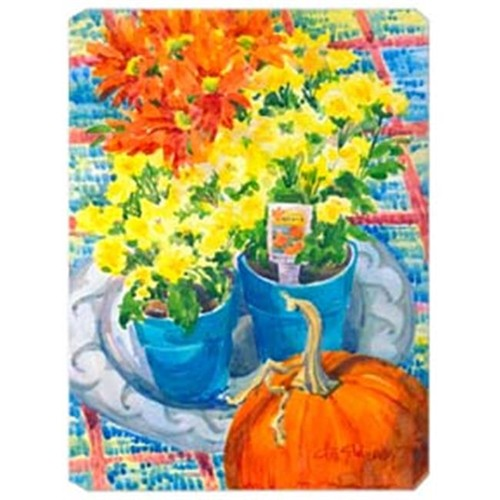 Carolines Treasures 6005MP 9.5 x 8 in. Flower - Mums Mouse Pad Hot Pad Or Trivet