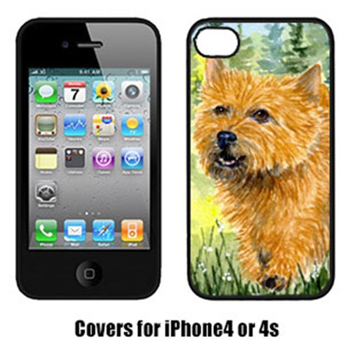 Carolines Treasures SS8878IP4 Norwich Terrier Cell Phone Cover Iphone4