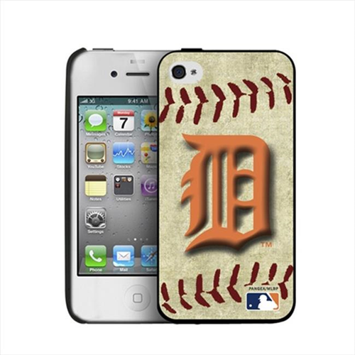 Pangea IP4-MLB-BB-DET iPhone 4 & 4S Detroit Tigers Vintage Case