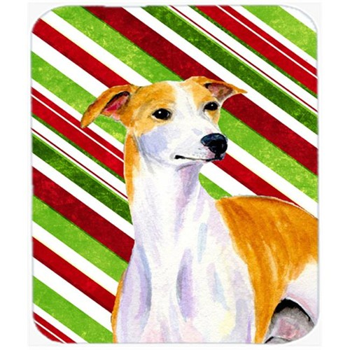 Carolines Treasures LH9238MP Whippet Candy Cane Holiday Christmas Mouse Pad Hot Pad Or Trivet