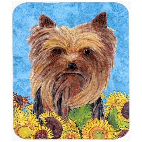 Carolines Treasures SC9060MP Yorkie Mouse Pad Hot Pad Or Trivet