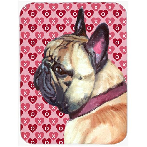 Carolines Treasures LH9566MP French Bulldog Frenchie Hearts Love And Valentines Day Mouse Pad Hot Pad & Trivet