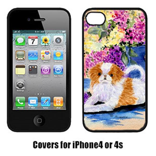 Carolines Treasures SS8300IP4 Japanese Chin Cell Phone cover IPhone 4