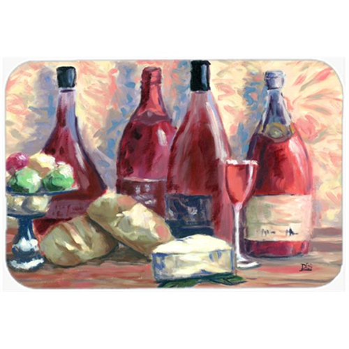 Carolines Treasures SDSM0127MP Wine & Cheese by David Smith Mouse Pad Hot Pad or Trivet